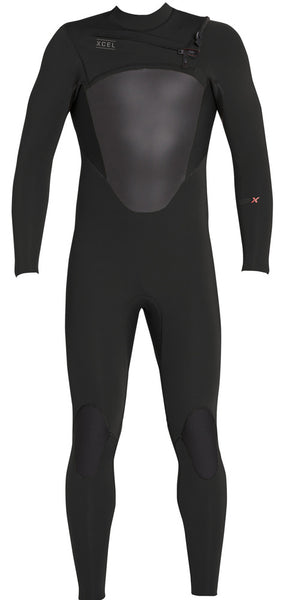Men's Axis X Front Zip Fullsuit 4/3mm