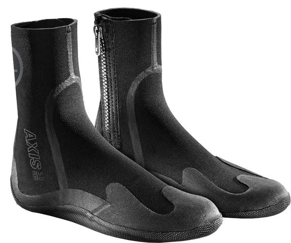 Axis Zipper Youth Round Toe Boot 5mm