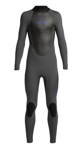 Youth Axis Back Zip Fullsuit 4/3