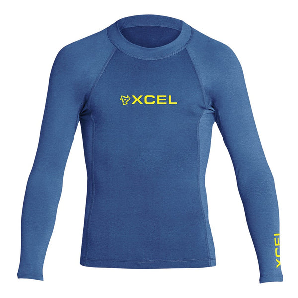 Youth Premium Stretch Solid L/S Top