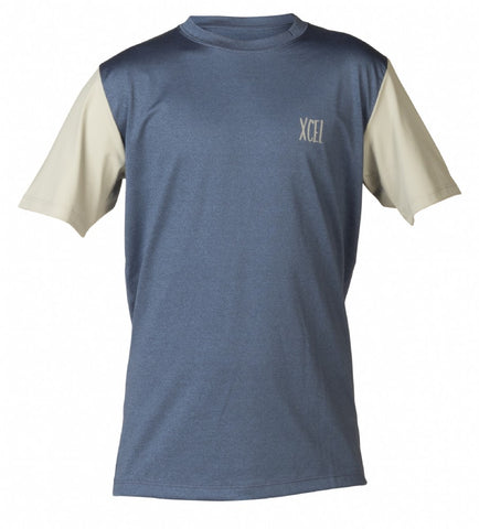 Boy's Josh S/S Heathered UV Top