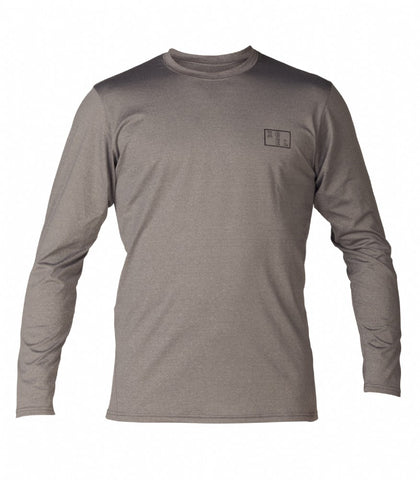 Men's Jake L/S Heathered UV Top