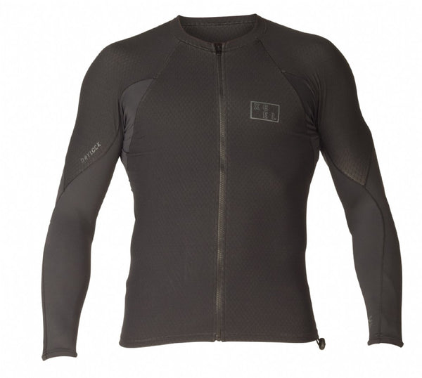 Men's Drylock Celliant L/S Front Zip Top