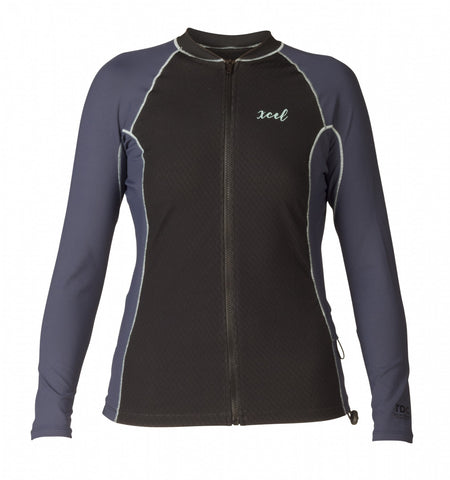 Women's Drylock Celliant Front Zip L/S