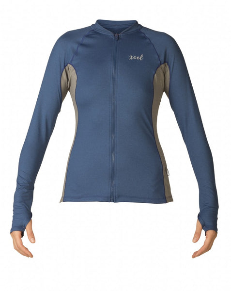 Women's Sophia UV Front Zip Jacket L/S