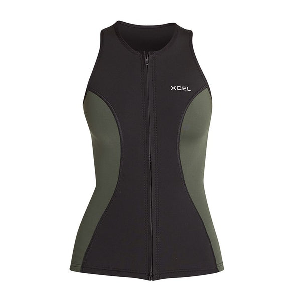 Women's Axis Front Zip Vest 1.5/1