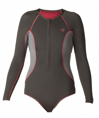 Women's Axis L/S Front Zip Springsuit 1.5mm