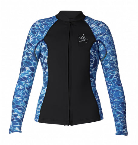 Women's Water Inspired Axis L/S Front Zip 2/1mm