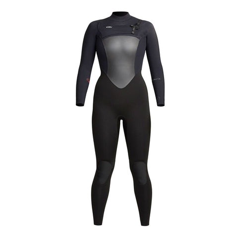 Womens Infiniti 4/3mm Front Zip Fullsuit