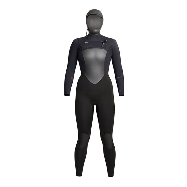 Arriving April 10th 2021 Womens Infiniti 5/4mm Hooded Fullsuit