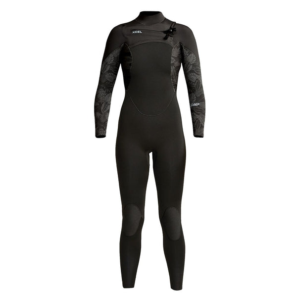 Womens Comp 4/3mm Front Zip Fullsuit