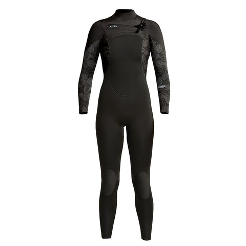Arriving March 15th 2021 Womens Comp 4/3mm Front Zip Fullsuit
