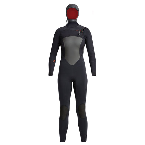 Women's Drylock Hooded Fullsuit 6/5/4