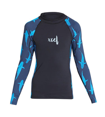 Girl's Water Inspired UV 6oz. L/S Top