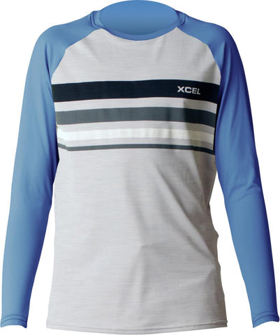 Boy's Oceanside Heathered Ventx L/S