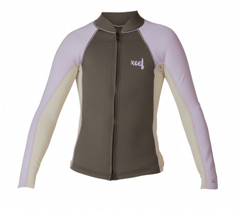 Youth Axis Front Zip Wetsuit Top L/S 2/1