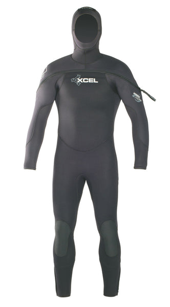 Men's Polar Hydroflex Hooded Dive Fullsuit 8/7/6