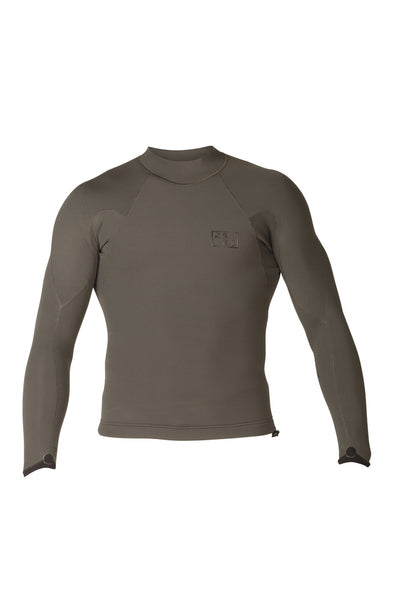 Men's Drylock L/S Wetsuit Top 2mm