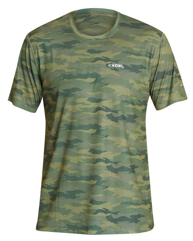 Men's ThreadX Hawaiian Camo S/S