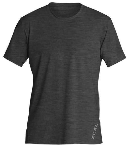 Men's Heathered VentX Solid S/S