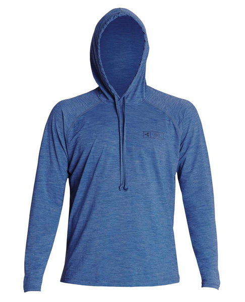 Men's Heathered VentX Hooded Pullover