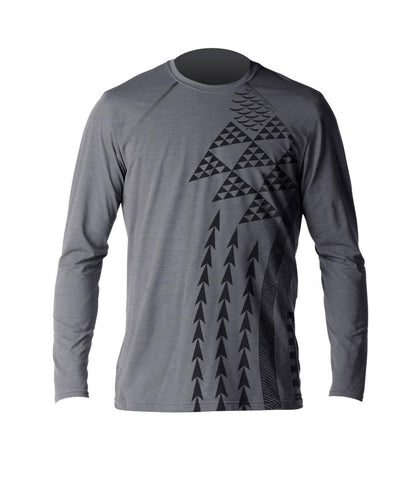 Men's Haleiwa Heathered Ventx L/S