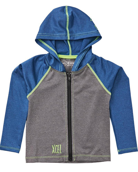 Toddler's Premium Stretch Unisex Front Zip Hoodie