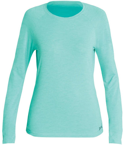 Women's Heathered VentX Solid L/S