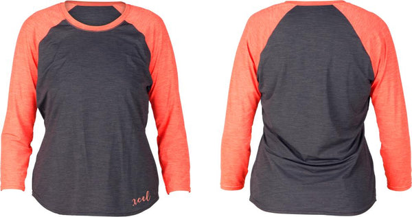 Women's Angela Heathered Ventx 3/4 Sleeve