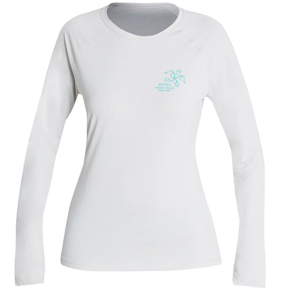 Women's Heathered VentX Honu L/S
