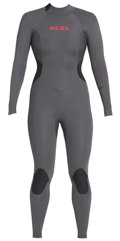 Women's Comp Back Zip Fullsuit 4/3