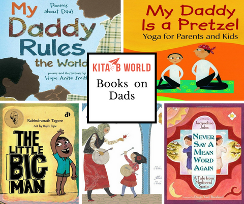 Seven Picture Books For Fathers' Day!
