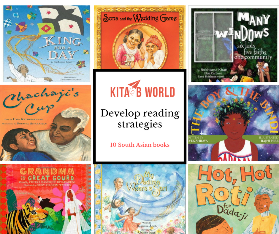 10 South Asian Books to Develop Reading Strategies