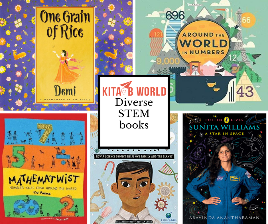 Diverse STEM books