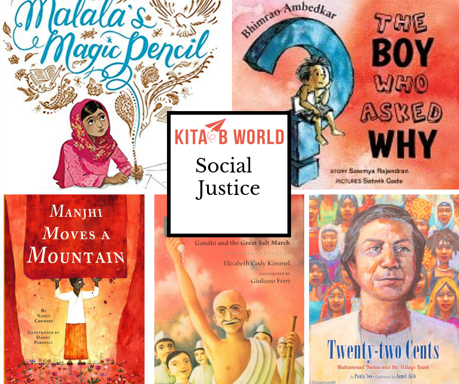 Nurturing Young Activists: South Asian Social Justice Books