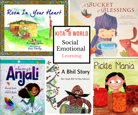 Books to teach Social Emotional Learning