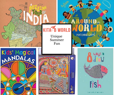 Summer Fun: Unique Activity Books and Puzzles