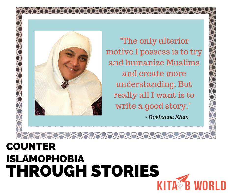 Rukhsana Khan on stories as bridges of understanding