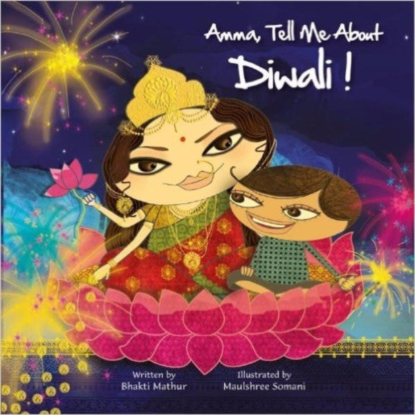 Amma Tell Me About Diwali - KitaabWorld
