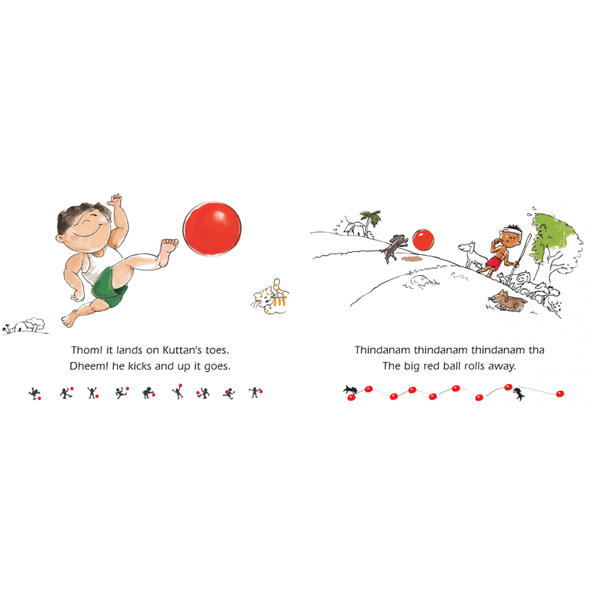 Thakitta Tharikitta Bouncing Ball - KitaabWorld
