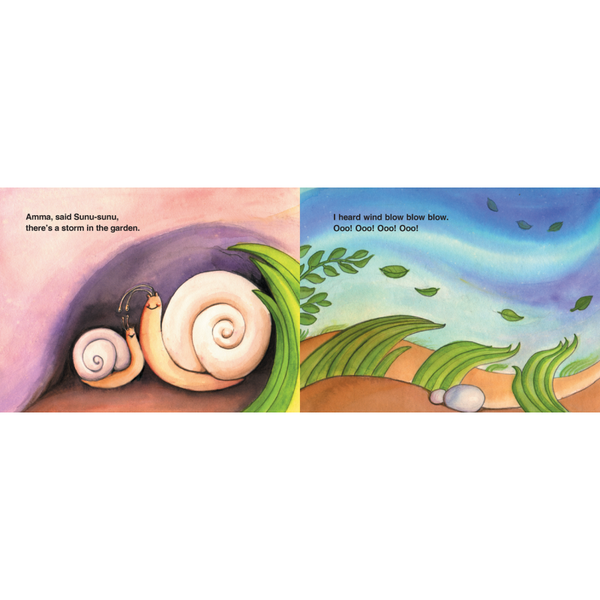 Sunu-Sunu Snail: A Storm In The Garden - KitaabWorld