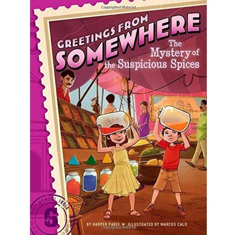 Greetings from Somewhere: The Mystery of the Suspicious Spices - KitaabWorld