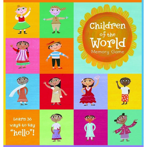 Children of the World Memory Game - KitaabWorld