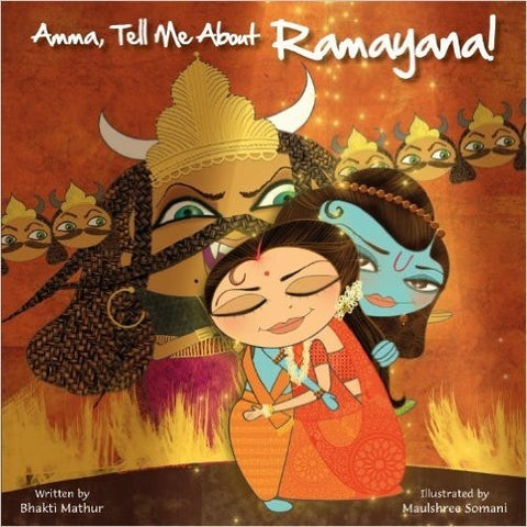 Amma Tell Me About Ramayana - KitaabWorld