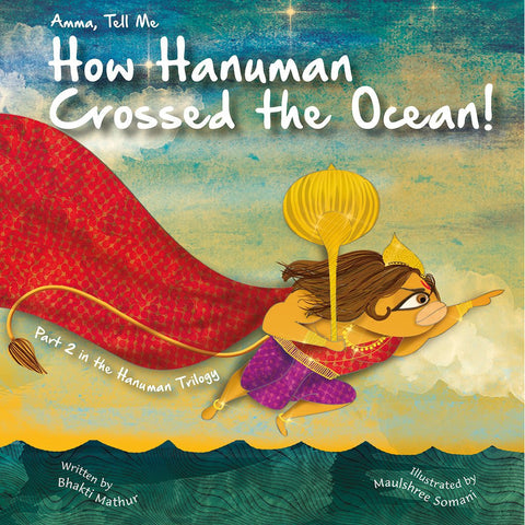 Amma Tell me about Hanuman's Crossed the Ocean: Part 2 - KitaabWorld