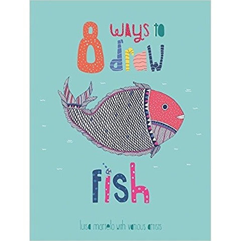 8 Ways to Draw Fish - KitaabWorld
