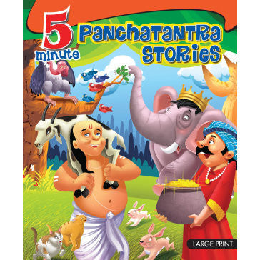 5 Minute Panchatantra Stories - KitaabWorld