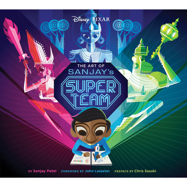 The Art of Sanjay's Super Team - KitaabWorld
