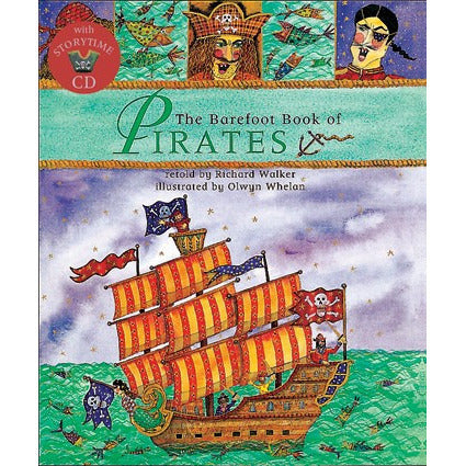 The Barefoot Book Of Pirates - KitaabWorld - 1