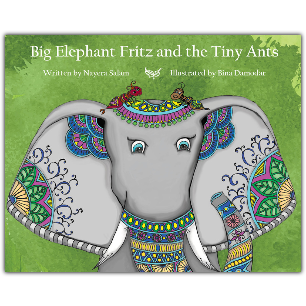 Big Elephant Fritz and the Tiny Ants - KitaabWorld